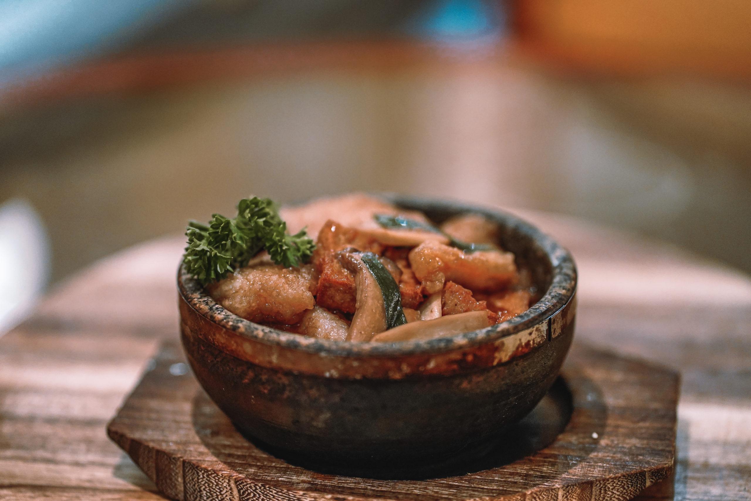 Braised Fish With Tofu Claypot